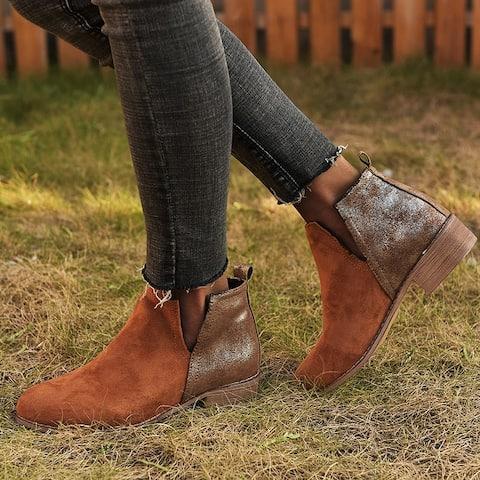 Classic Side Split Shoes