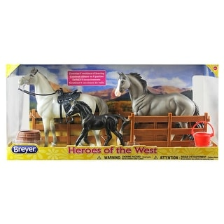 Breyer 1:12 Classics Model Horse Set: Heroes of the West
