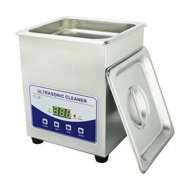 2.0L Professional Digital Ultrasonic Cleaner Machine with Timer Heated Stainless steel Cleaning tank 110V/220V