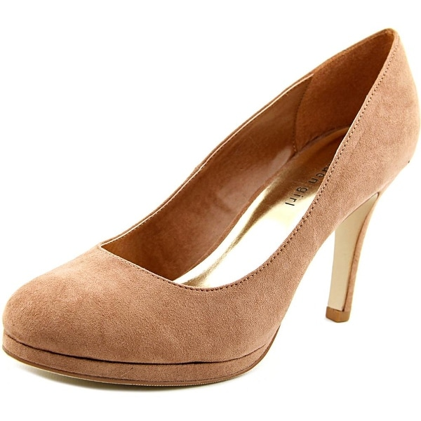 Madden Girl Dolce Round Toe Synthetic Heels