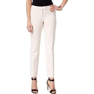Anne Klein Womens Dress Pants Slim Solid