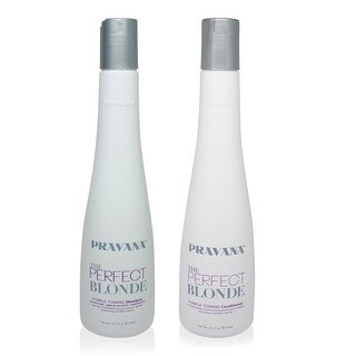 PRAVANA Perfect Blonde Shampoo and Conditioner 10 oz Combo Pack