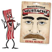 Bacon Scented Moustache - Brown