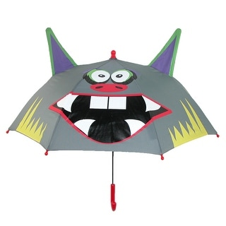 ShedRain Kids' Rain Essentials Monster Character Stick Umbrella - monster mitch - One Size