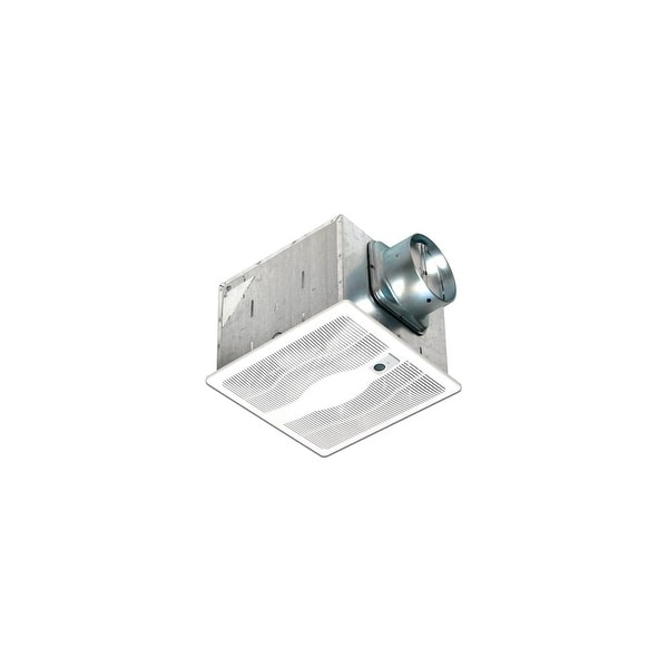 Air King E130S 130 CFM 0.3 Sone Ceiling Mounted Energy Star Rated Exhaust Fan - White - n/a