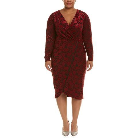 Rachel Crossover Sheath Dress