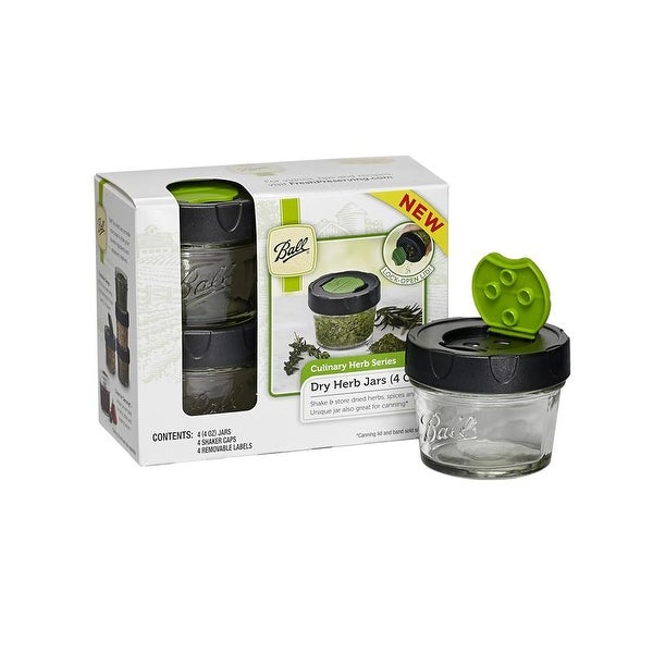 Ball 1440010744 Dry Herb Jars, 4 Oz