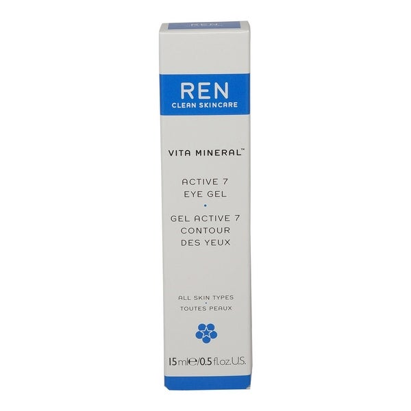 REN Skincare Active 7 Radiant Eye Gel 0.5 Oz