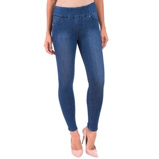 Lola Jeans Rachel-MB, High Rise Pull On Ankle With 4-Way Stretch