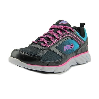 Fila Stride 3   Round Toe Synthetic  Running Shoe