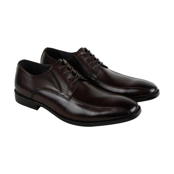 Kenneth Cole New York Extra Ticket Mens Brown Casual Dress Oxfords Shoes