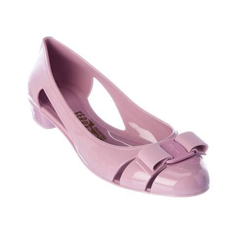 Salvatore Ferragamo Vara Bow Jelly Ballet Flat