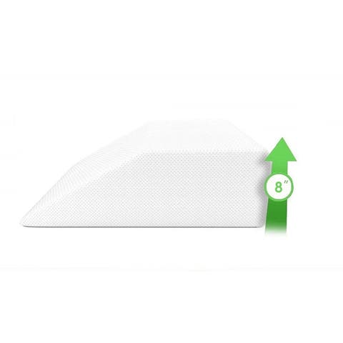 Home Sweet Home Leg Rest Wedge Pillow with Memory Foam Top