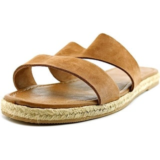 Nautica Bow Spirit   Open Toe Leather  Slides Sandal