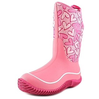 The Original Muck Boot Company Hale Youth Round Toe Synthetic Pink Rain Boot