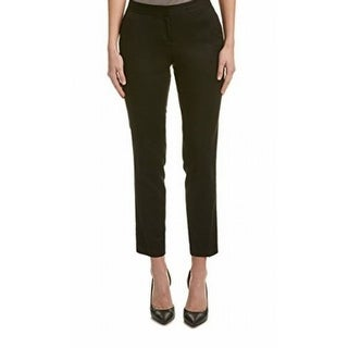 Vince Camuto NEW Black Women's Size 4X29 Front-Tab Dress Pants Stretch
