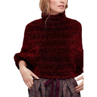 Free People Womens Pullover Sweater Knit Cowl-Neck - S