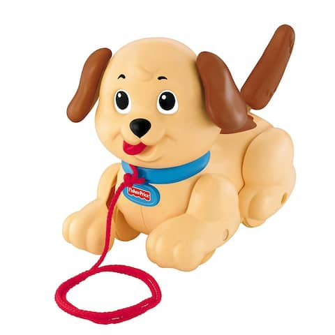 Fisher-Price Brilliant Basics Lil' Snoopy Dog, 12 Months and Up - Tan - Tan