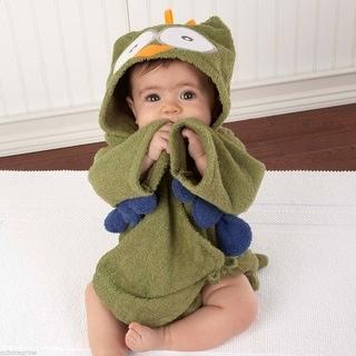 Baby Bathrobe Cartoon Animal Baby Hooded washcloth Bath Towel Bathing Robe