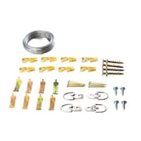 Hangman BHK-WT Picture Hanging Kit, 45 Pieces