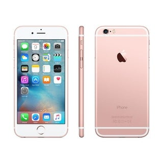Apple iPhone 6 16GB Factory Unlocked 4G LTE Phone AT&T Verizon T-Mobile w/8MP Camera ROSE GOLD