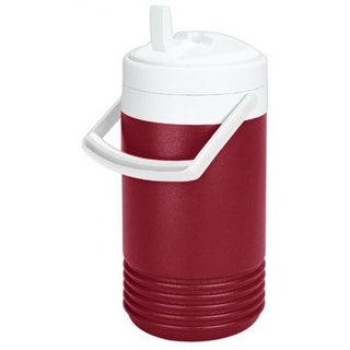 Igloo 2204 Legend Beverage Jug, 1 Gallon, Diablo Red & White