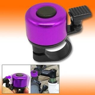 Micro Mini Purple Black Columniform Bicycle Bike Bell Ring