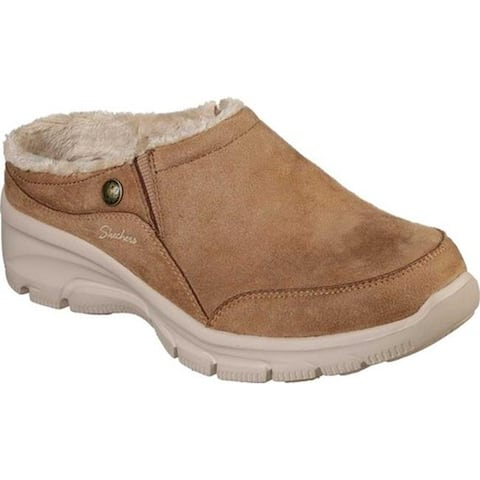 Skechers Women's Relaxed Fit Easy Going Latte Clog Tan