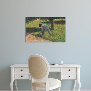 Easy Art Prints National Gallery of Art's 'Peasant With A Hoe' Premium Canvas Art