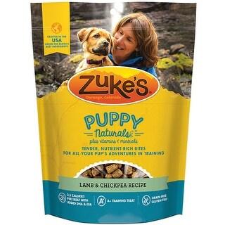 Zukes Puppy Naturals Dog Treats - Lamb & Chickpea Recipe - 5 oz