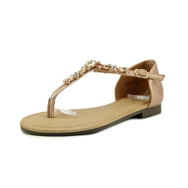 GC Shoes Lola Ross Gold Sandals