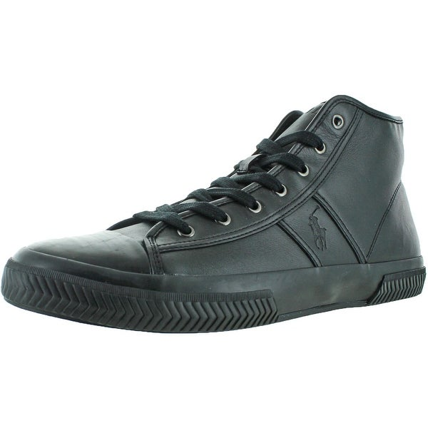 Polo Ralph Lauren Tremayne Mens Leather Sneakers Shoes