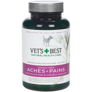 Vet's Best Aches and Pains Relief 50 Tabs