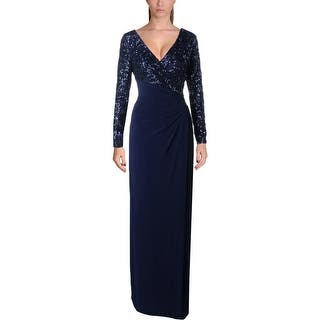 Lauren Ralph Lauren Womens Lylina Evening Dress Sequined High Waist|https://ak1.ostkcdn.com/images/products/is/images/direct/9ddd674710f1ed9a1005150393175c2770b544c5/Lauren-Ralph-Lauren-Womens-Lylina-Evening-Dress-Sequined-High-Waist.jpg?impolicy=medium