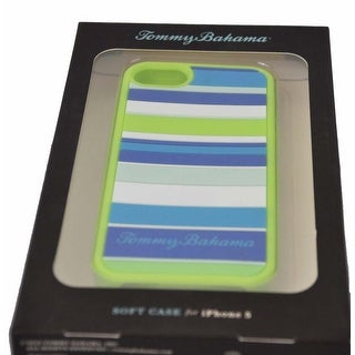 Tommy Bahama Silicone Stripe Snap on Phone Case for Iphone 5