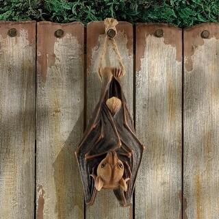 Design Toscano Halloween  Hanging Mega Bat Sculpture