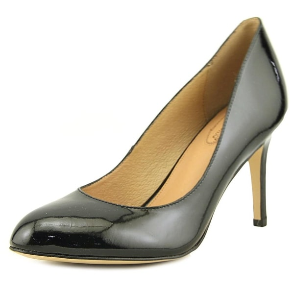 Corso Como Intrigue Women Round Toe Synthetic Black Heels