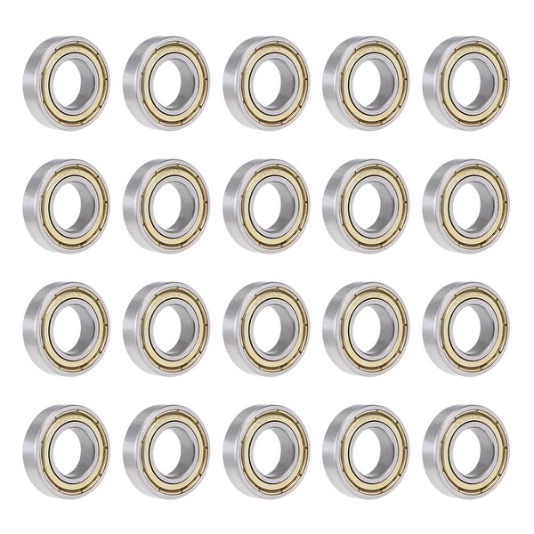 6901ZZ Deep Groove Ball Bearing 12x24x6mm Double Shielded Carbon Bearings 20Pcs - Pack of 20 - 6901ZZ (12*24*6)