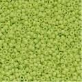 Toho Round Seed Beads 15/0 44 'Opaque Sour Apple' 8 Gram Tube - Thumbnail 0