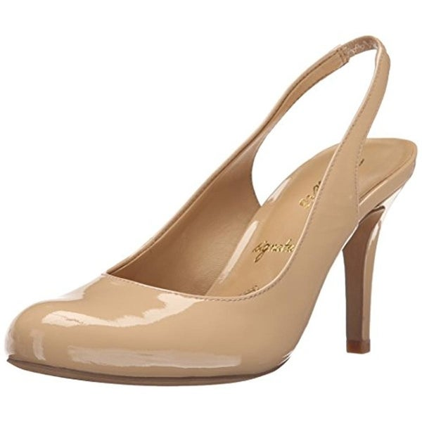 Trotters Womens Gidget Pumps Patent Leather Slingback