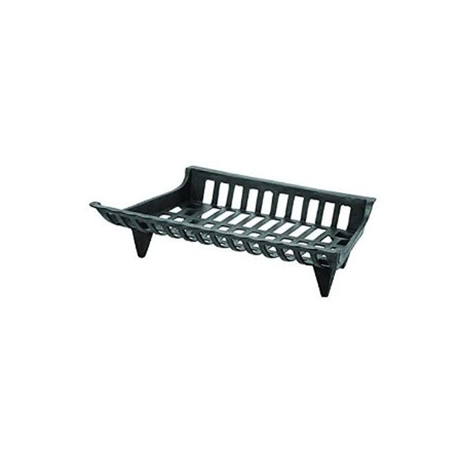 Black 24 Pleasant Hearth CG24 Cast-Iron Fireplace Grate