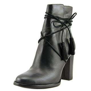 Vince Camuto Garrit Women  Round Toe Leather Black Ankle Boot