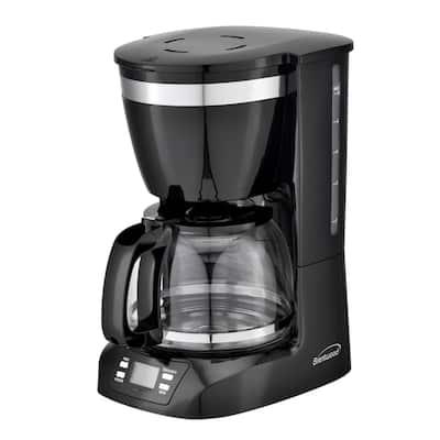 Brentwood 10 Cup Digital Coffe Maker in Black