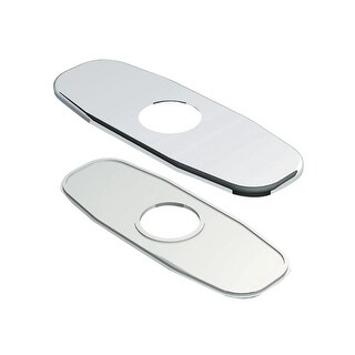 "Danze D493082 4"" Single Hole Centerset Bathroom Escutcheon Plate"