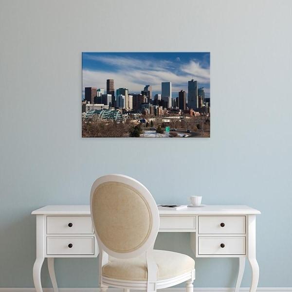 Easy Art Prints Walter Bibikow's 'Denver' Premium Canvas Art