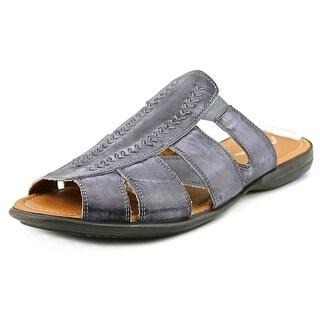 Bacco Bucci Neto Men Open Toe Leather Slides Sandal