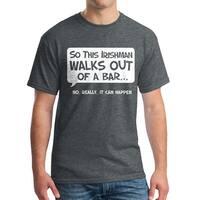 Humor So An Irishman Men's Dark Heather T-shirt