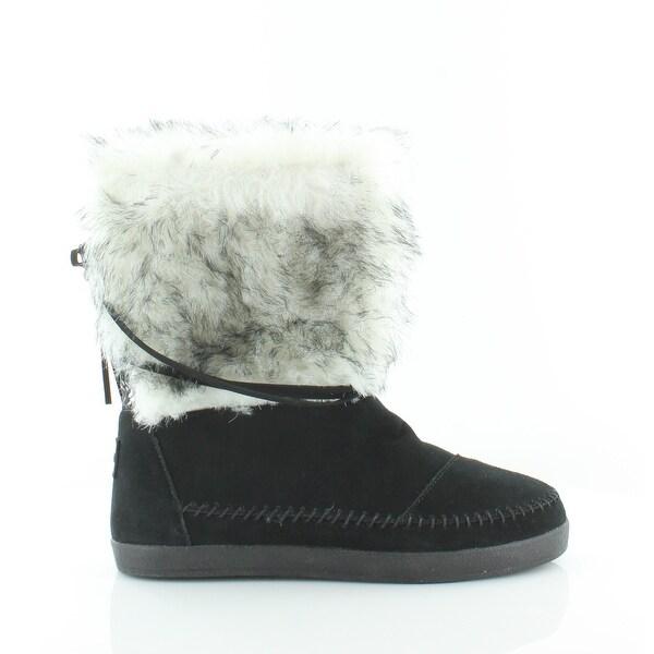TOMS Nepal Women's Boots Black - 8