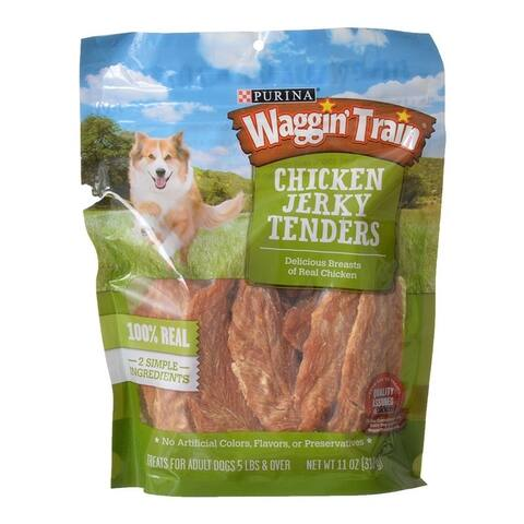 Purina Waggin Train Chicken Jerky Tenders 11 oz