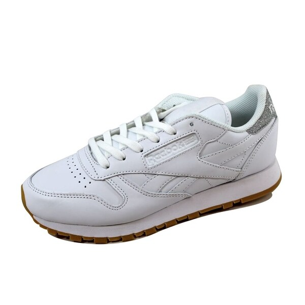 d380c96471da Shop Reebok Women s Classic Leather Met Diamon White Gum BD4423 ...